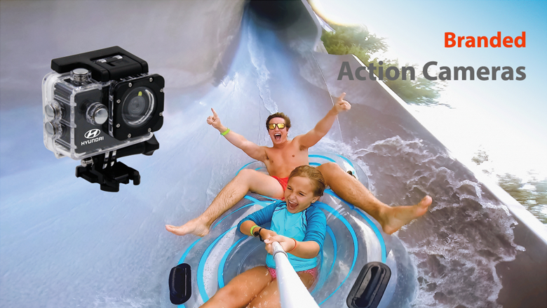 Personalized Action Camera | Custom Action Camera | Promotional & Branded with logo