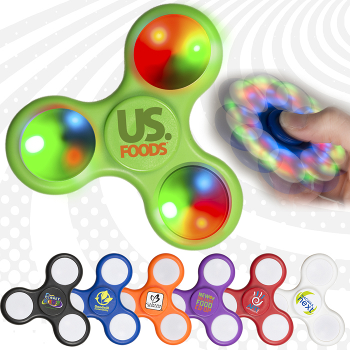 Promotional Fidget Spinner | Custom Logo Fidget Toys Branded | Promotional Products