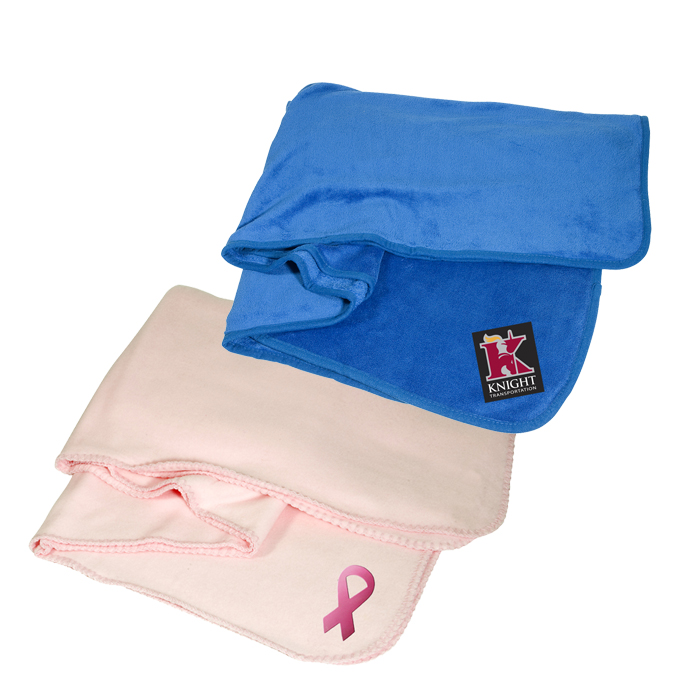 Custom Blankets | Promotional Blankets | Personalized Blankets with Logo