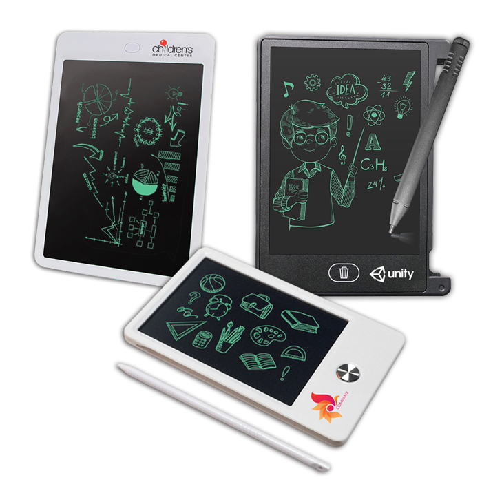 LCD Writing Tablets, Digital Notepads, Paperless Writing & Drawing Message Boards
