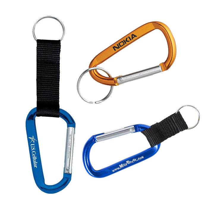 Promotional & Custom Carabiners, Personalized with Company Logo