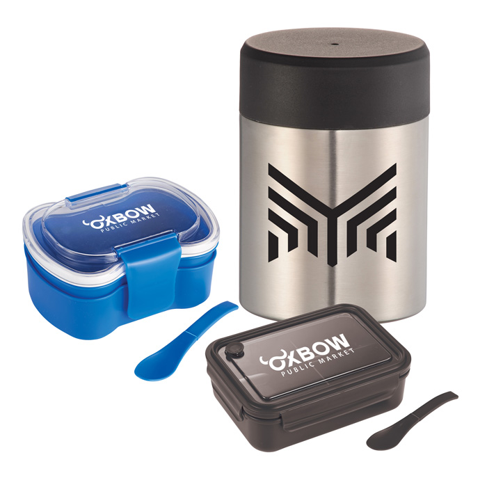 Custom Lunch Boxes, Promotional & Personalized Food Containers with Company Logo