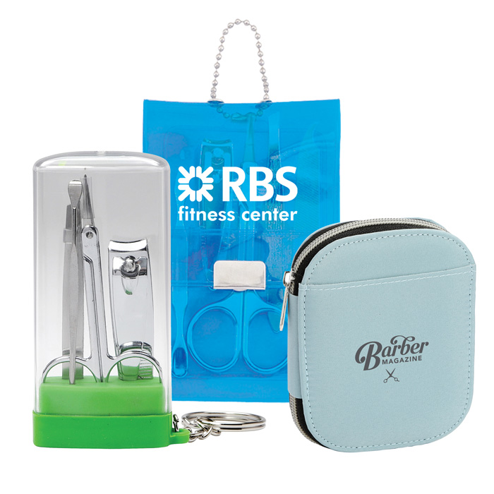 Custom Manicure Sets, Promotional Personal Care Kits & Grooming Items with Company Logo