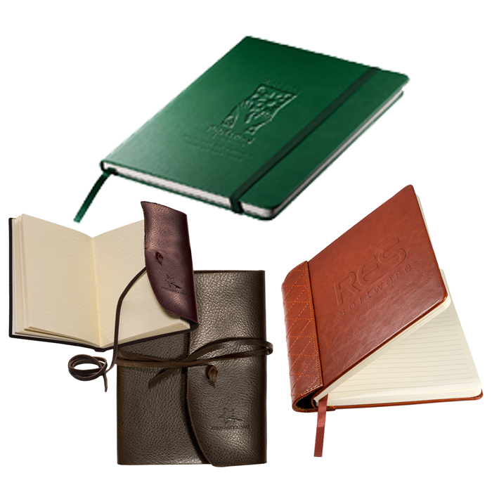 Custom Notebooks | Business Promotional Items | Personalized Journals, Portfolios