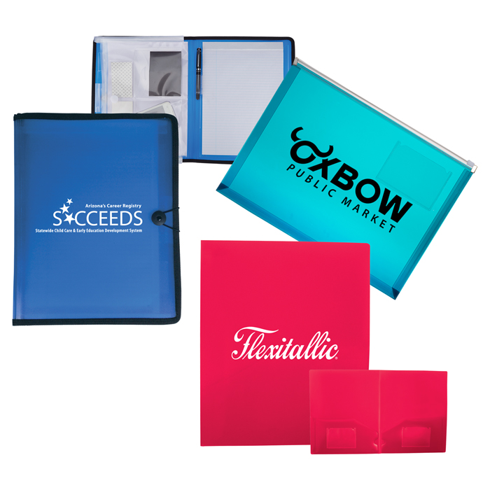 Custom Printed Document Holders, Envelopes, Clipboards with Logo