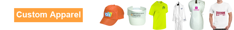 Custom apparel, Personalized, Promotional, Embroidered Logo Clothing