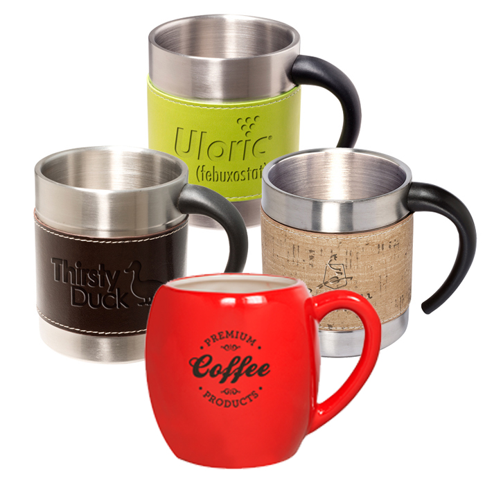 Custom Coffee Mugs with Logo | Personalized Cups | Custom Cups