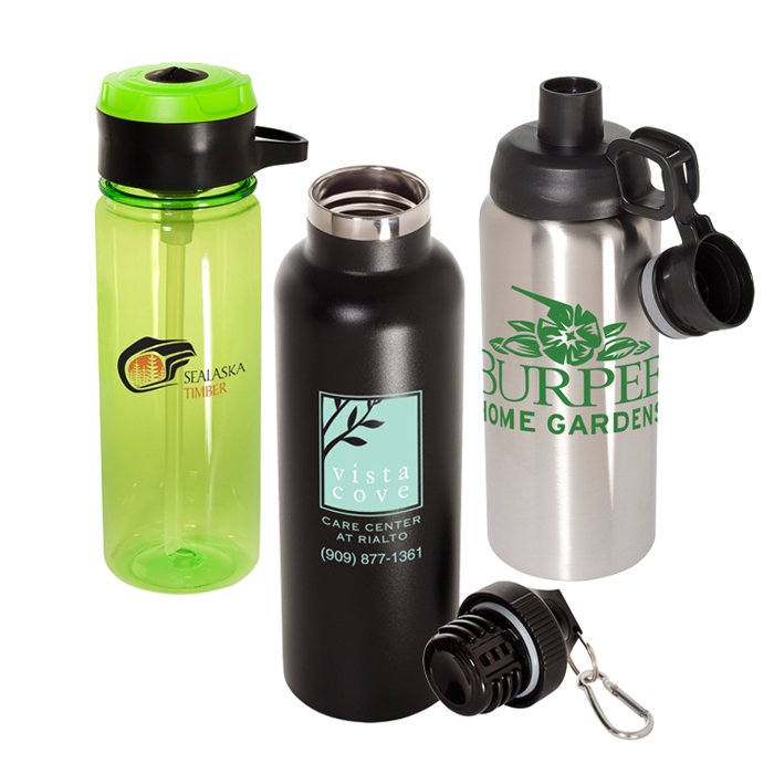 Custom Water Bottles with Logo | Promotional Sports Water Bottles
