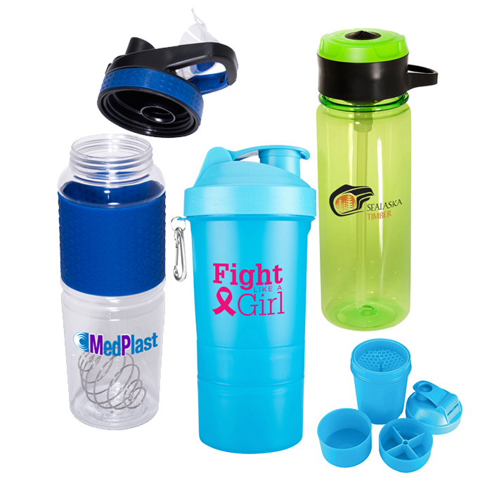 Custom Shaker Bottles | Promotional & Personalized Infuser Water Bottles