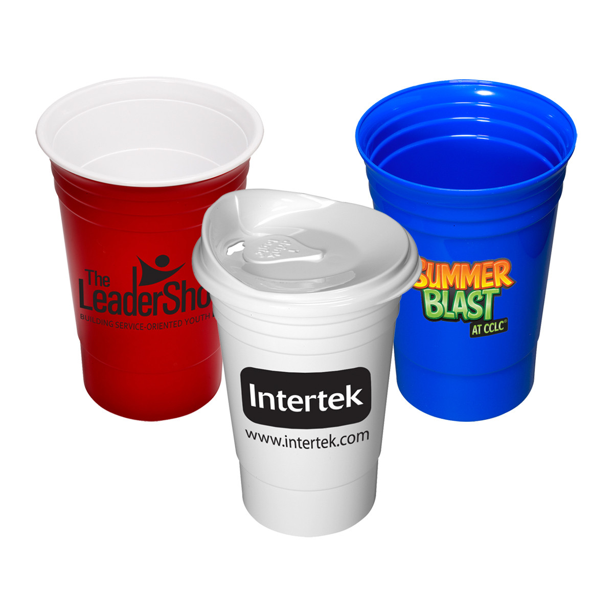 Custom Plastic Cups | Custom Stadium Cups | Personalized Party Cups