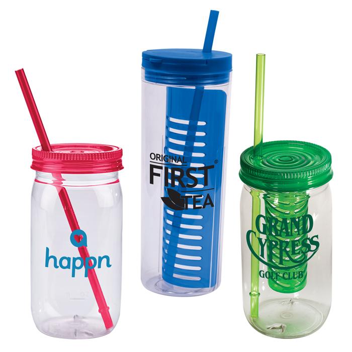 Custom Mason Jar Mugs | Promotional Mason Jar Tumblers, Glasses