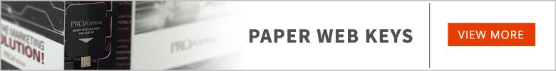 Paper Webkey | Custom Printed & Promotional Paper Webkey