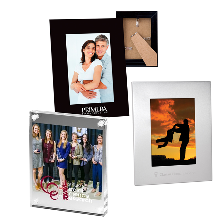 Custom Picture Frames, Promotional Photo Frames Personalized with Logo