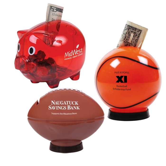 Promotional Piggy Banks Custom with Company Logo