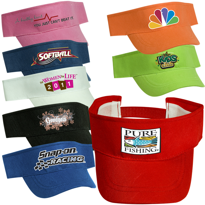 Custom Visors | Adjustable Promotional Visors