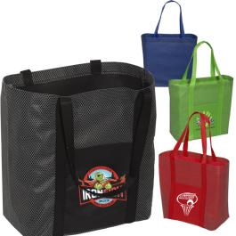 "The Go-Go Shopper Tote Bag - 17.8""w x 12.75""h x 6.375""d - Domestic Inventory"