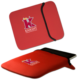 """Reversible iPad®/Tablet Sleeve - 11.375""""w x 9.375""""h - Domestic Inventory"""