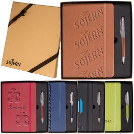 Tuscany™ Journal Notebook & Pen Gift Set - Domestic Inventory