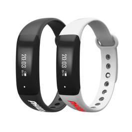 Logoed Fitness Tracker with Heart Rate Monitor