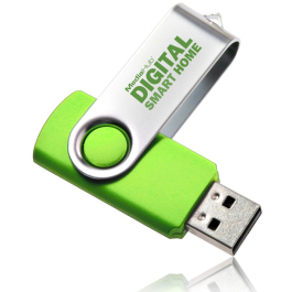 Swivel USB Flash Drive - 16GB