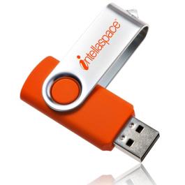 Swivel USB Flash Drive - 8GB