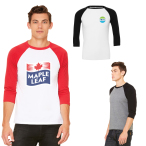 Bella+Canvas® Unisex 3/4 Sleeve Baseball Tee