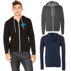 Bella+Canvas® Unisex Sponge Fleece Full-Zip Hoodie