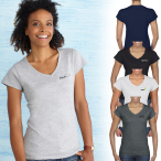 Gildan® Softstyle® Ladies V-Neck T-Shirt - 4.5 oz.