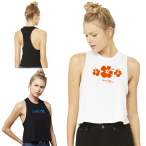 Bella+Canvs® Women's Racerback Cropped Tank
