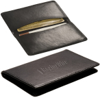 "Alpine Card Case (Cowhide) - 4-1/4""w x 2-1/2""h, 3/8""d at slimmest point"