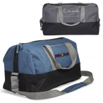 "Strand™ Snow Canvas Duffel Bag - 19""w x 10.5""h x 10""d"