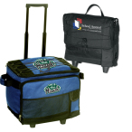 "Ice® Original 54-Can Roller Cooler Bag - 15""w x 13""h x 12""d open"