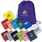 "String-A-Sling Backpack - 15""w x 18""h flat bag"