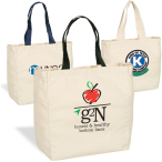 "Give-Away Canvas Tote Bag - 11""w x 14""h x 5""d"
