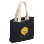 "Denim  Event Tote Bag - 13.5""w x 17.25""h x 3.5""d"