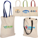 "Econo Cotton Shopping Tote Bag - 15""w x 16""h"