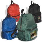 """Econo Polyester Backpack - 12""""w x 16""""h x 5""""d"""
