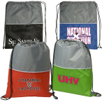"Two-Tone String-A-Sling Backpack - 14-1/2""w x 18""h"