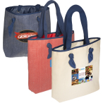 "Classic Outing Shopping Tote Bag - 17.375""w x 15.3125""h x 3.75""d"