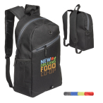 "Color Zippin'Laptop Backpack - 11""w x 16""h x 5.5""d"