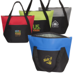"Lunch Size Cooler Tote - 13"" W x 10.25"" H x 6"" D"