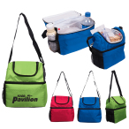 "Duo Compartment Lunch Pail - 10"" W x 10.5"" H x 5"" D"