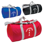 "Budget Barrel Duffel Bag - 18"" W x 10"" DIA."
