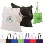 "Basic Cotton Tote - 15"" W x 15"" H"