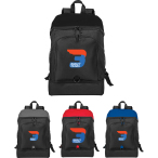 "Top Open 15"" Computer Backpack - 18.5"" H X 12.4"" W X 6.7"" D"