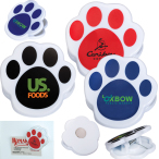 Pet Paw Magnetic Memo Clip