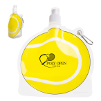 HydroPouch™ Tennis Ball Collapsible Water Bottle - 24 oz.