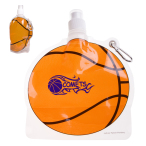 HydroPouch™ Basketball Collapsible Water Bottle - 24 oz.
