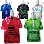 T-Shirt Shaped Collapsible Water Bottle - 16 oz.