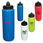 34 Oz. Budget Squeezable Water Bottle